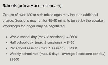ASA School Rates