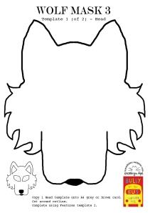 Wolf Mask3 - Head