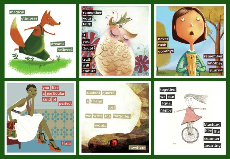 A Sampling of Kat's Storybirds