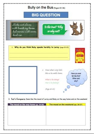 Bully on the Bus Study Notes PDF