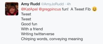 Amy Rudd - Tweet Tweet