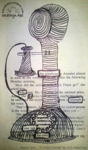 The Telephone Zentangle Poem